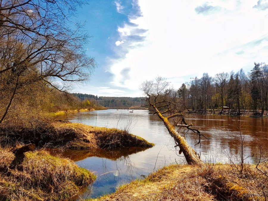 Kayaking in Latvia_ Gauja river in spring time_Escaperies