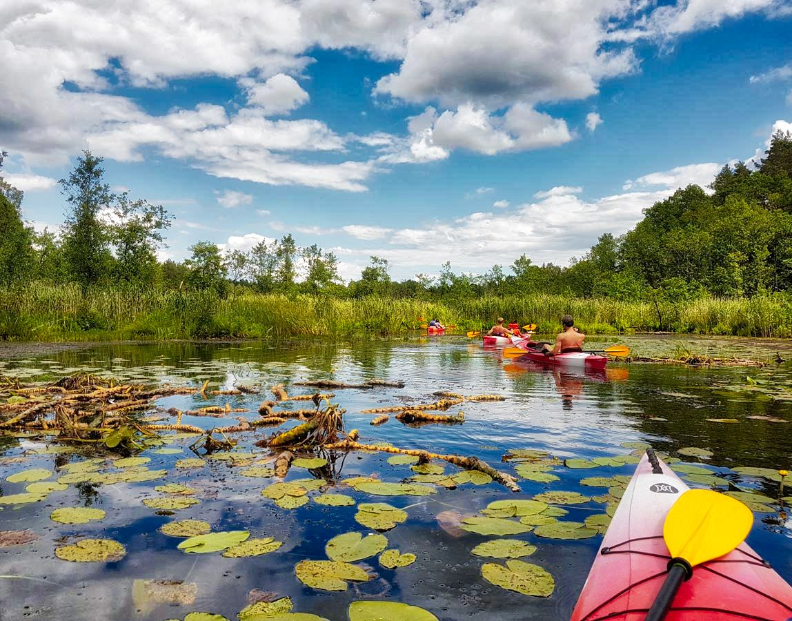Kayaking in Latgale _ Escaperies