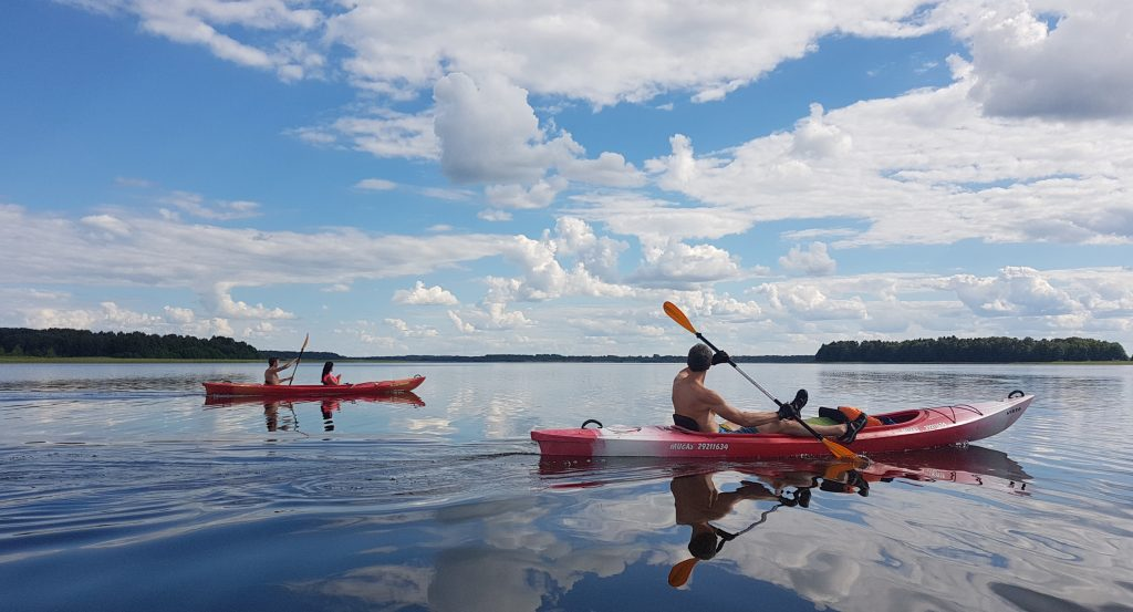 Traveling to Latvia _ kayaking in Latgale lakes