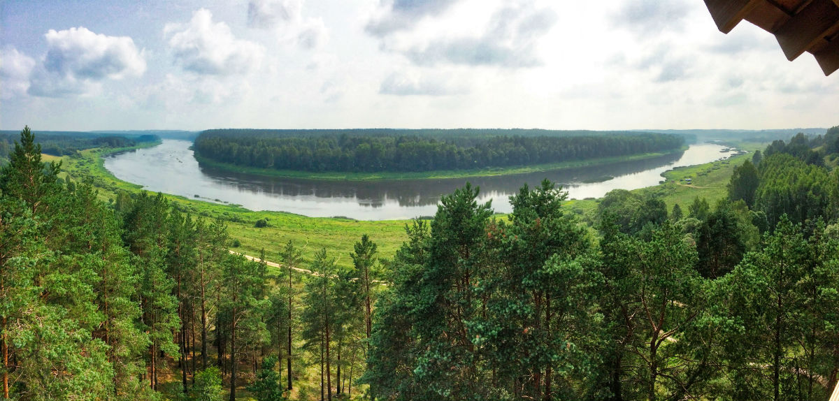 Latvia Daugavas loki