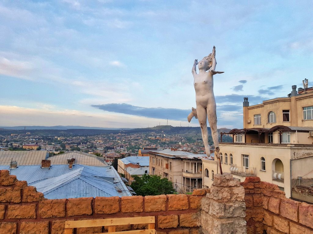 Travel to Gerogia _ A view from terrace _ Tbilisi _ Escaperies
