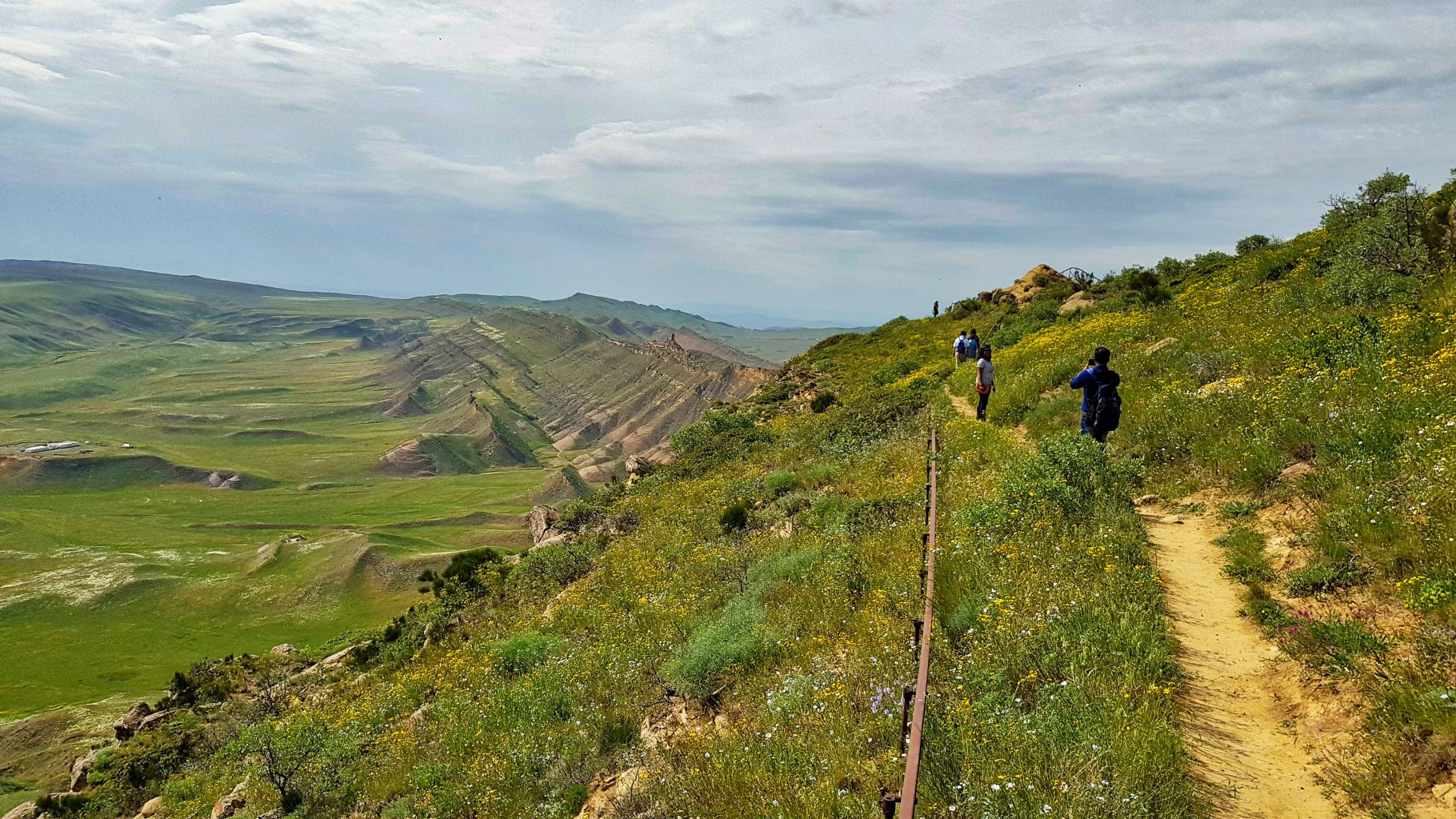 Travel to Sakartvelo _ Georgia _ Hiking in David Gareja _ a view to Azerbaijan _ Escaperies