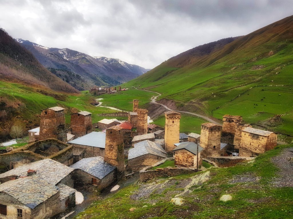 Travel to Gerogia _ UNESCO heritage village Ushguli in Svaneti Region _ Escaperies