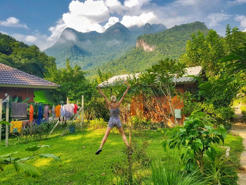 Northern Thailand _ Chiang Dao guesthouse _ Escaperies